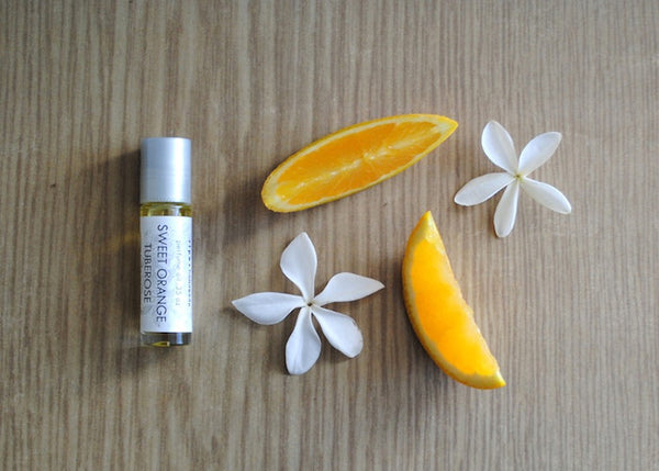 Sweet Orange Tuberose Perfume Oil