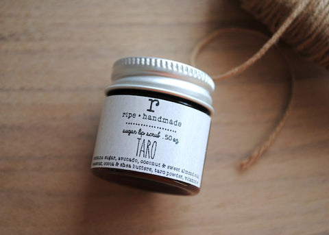 Taro Sugar Lip Scrub