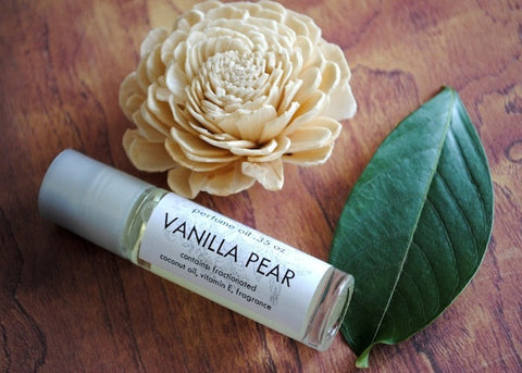 Vanilla Pear Perfume Oil