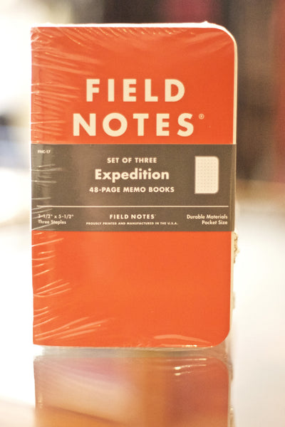 Expedition Notebook 3 Pack