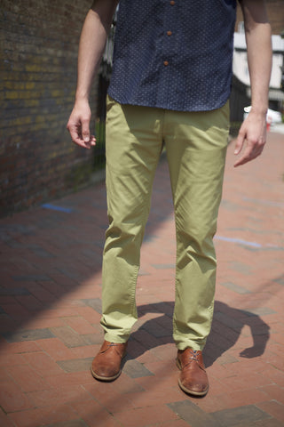 EC1 Slim Stretch Chino Sage