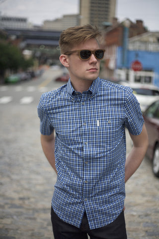 Mini check Short Sleeve Shirt