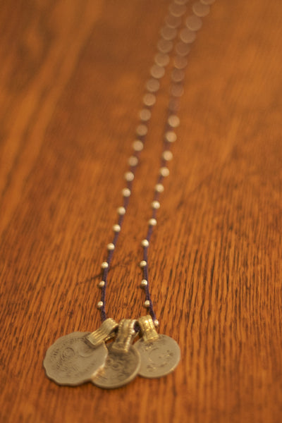 Tibetan Coin Necklace