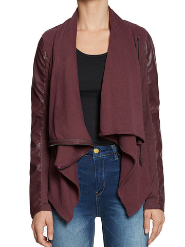 Private Practice Jacket Oxblood