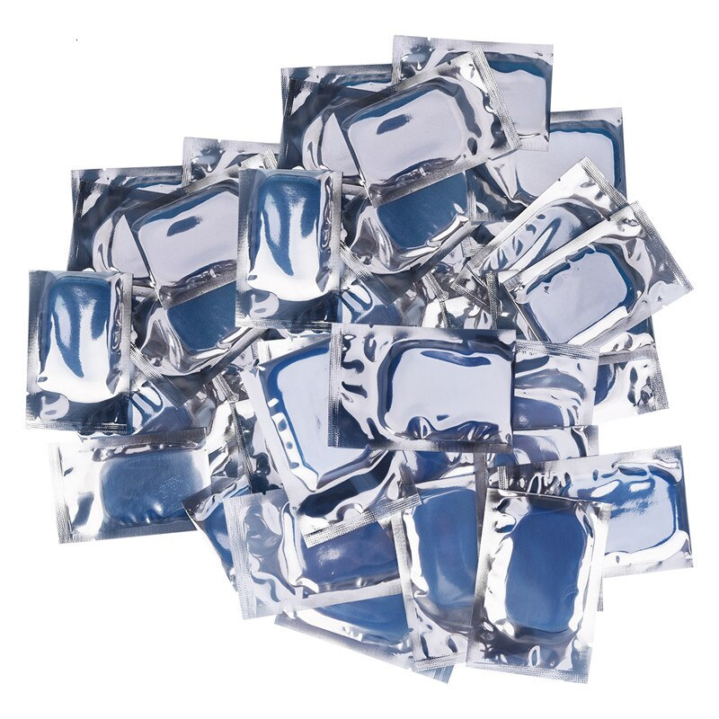 100 Pcs RECOMMENDED REPLACEMENT GEL PADS FOR EMS SIMULATOR ™