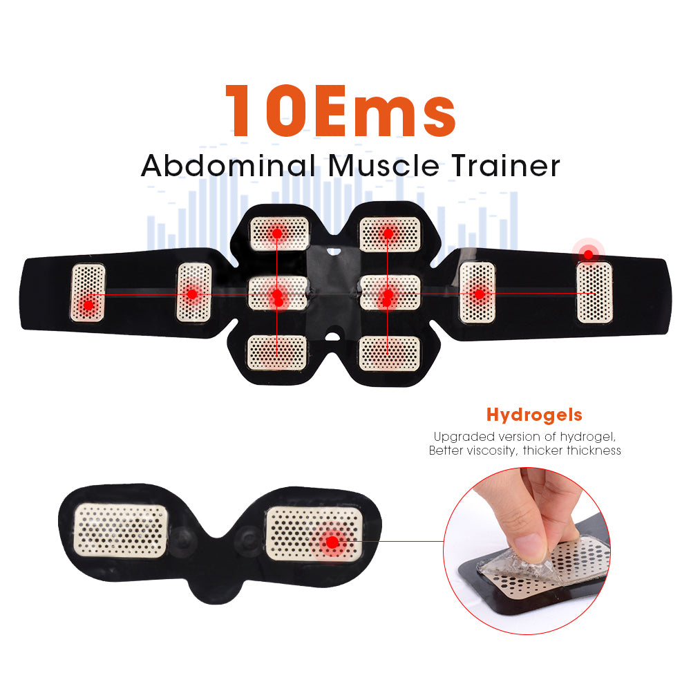 Smart Rechargeable ABS & Muscle Simulator ™