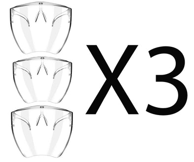 3 Pack Bundle Saver - High Quality Face Shields