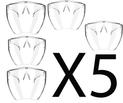 5 Pack Bundle Saver - High Quality Face Shields