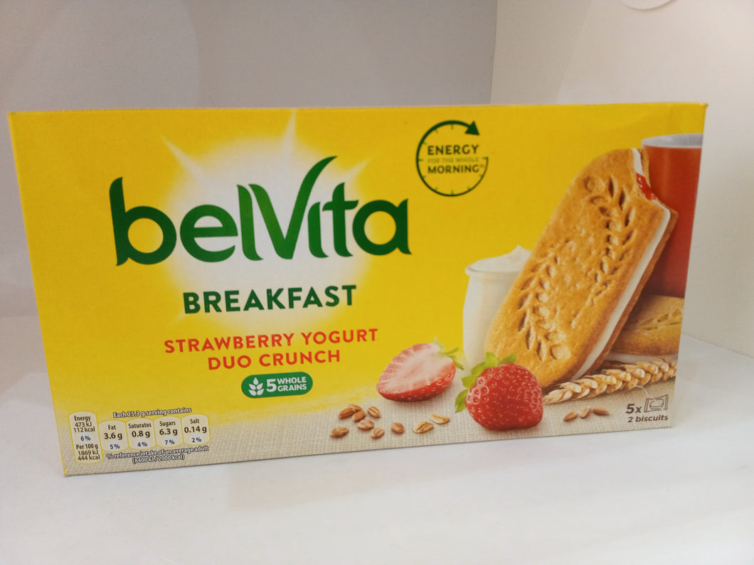 Belvita - Breakfast Strawberry Yogurt