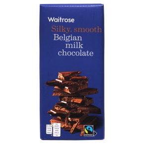 Waitrose Belgian Milk Chocolate 180g