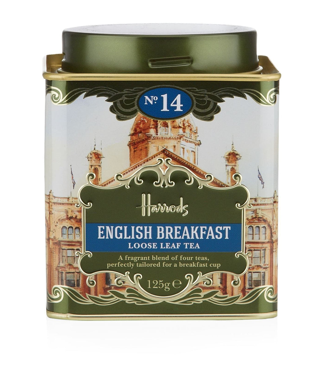 Harrods No. 14 English Breakfast Loose Leaf Tea (125g)