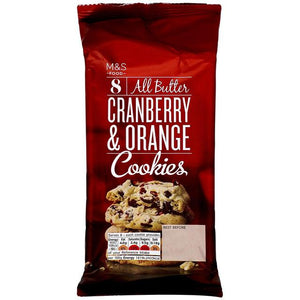 All Butter Cranberry & Orange Cookies