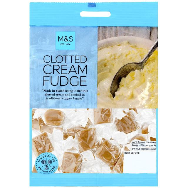 M&S Cornish Clotted Cream Fudge 135g