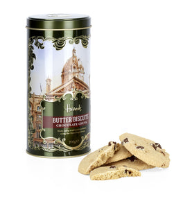 Harrods - Heritage Chocolate Chunk Biscuit Tin