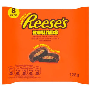 Reese's Rounds Peanut Butter Biscuits 128G