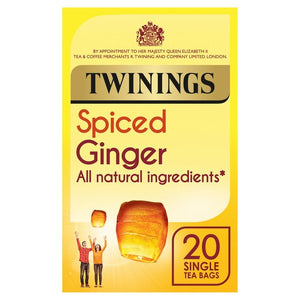 Twinings Spiced Ginger 20 bags 35G