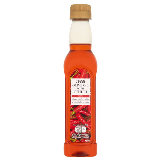 Tesco Chilli Infused Oil 250Ml