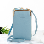 2020 New Fashion Women Phone Bag Solid Crossbody Bag