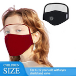 50% OFF TODAY - Face Mask With Eyes Shield
