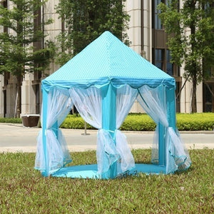 Folding Portable Princess Castle Tent Children Funny Play Fairy Tree House(without LED Star and Balls)