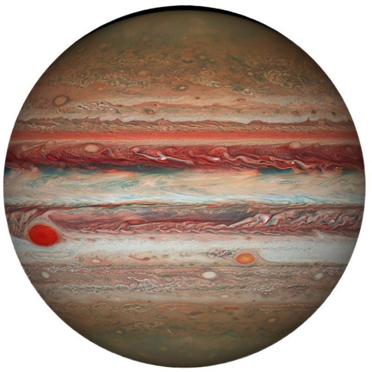 The Earth Series: 1,000-piece Circle Earth, Moon, and Mars Jigsaw Puzzles