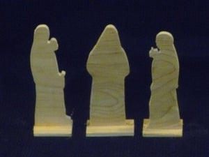 10 Bridesmaids Diorama and Figures