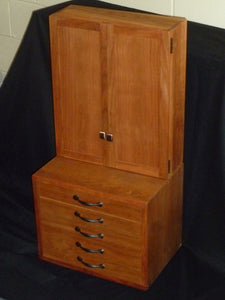 Sacristy Cabinet - Cherry