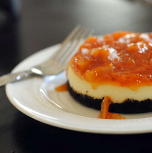 Citrus Jam Cheesecake