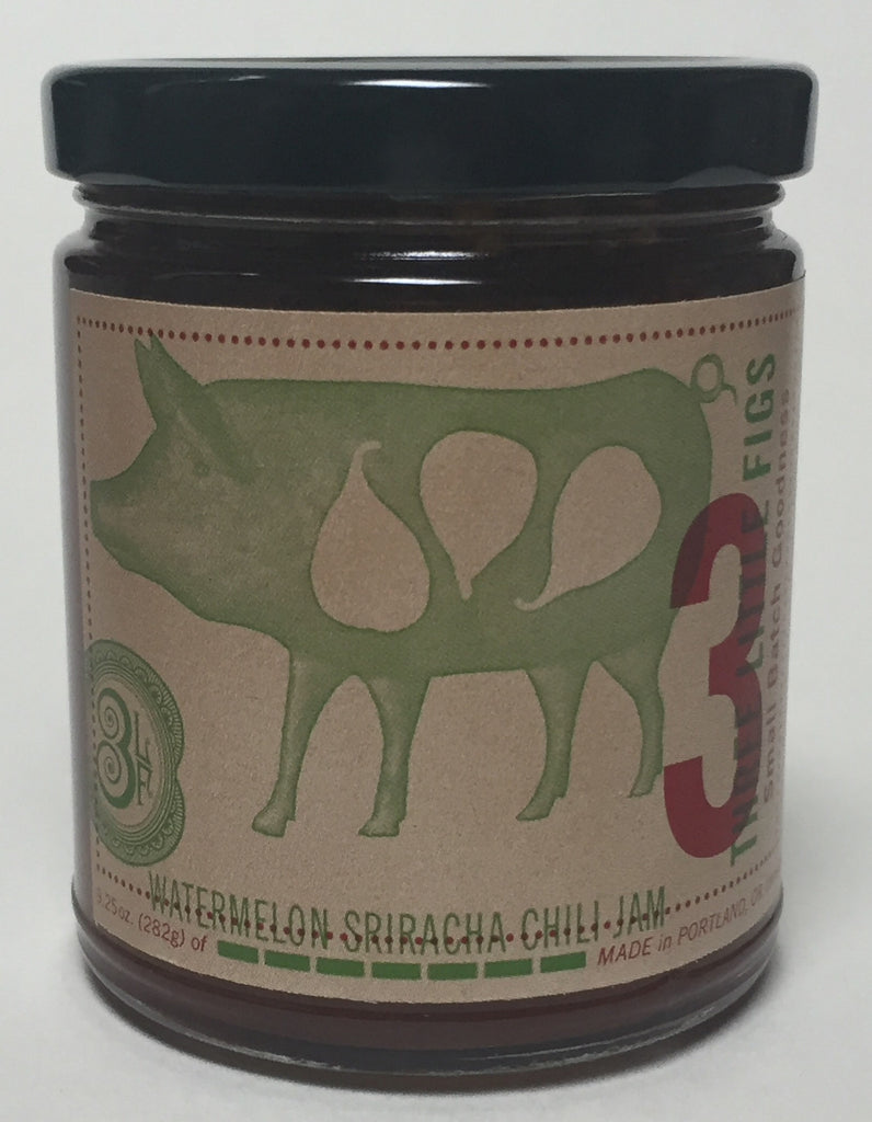 Watermelon Sriracha Chili Jam