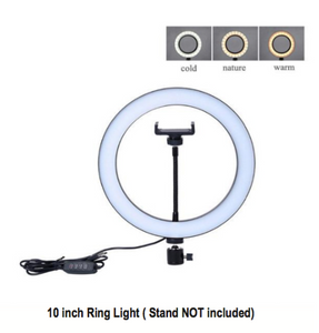 Selfie Ring Light with Tripod