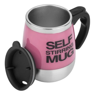 Self Stirring Mug Available in 4 Colors