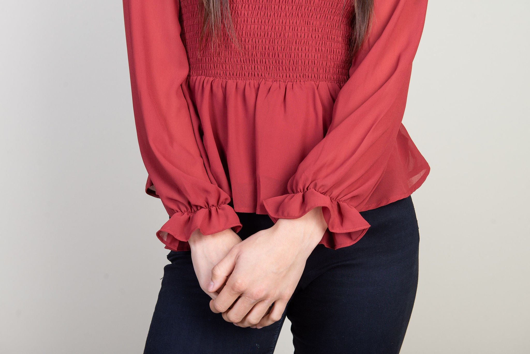 Zoey Blouse | Ginger