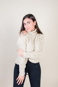 Riley cutout sweater
