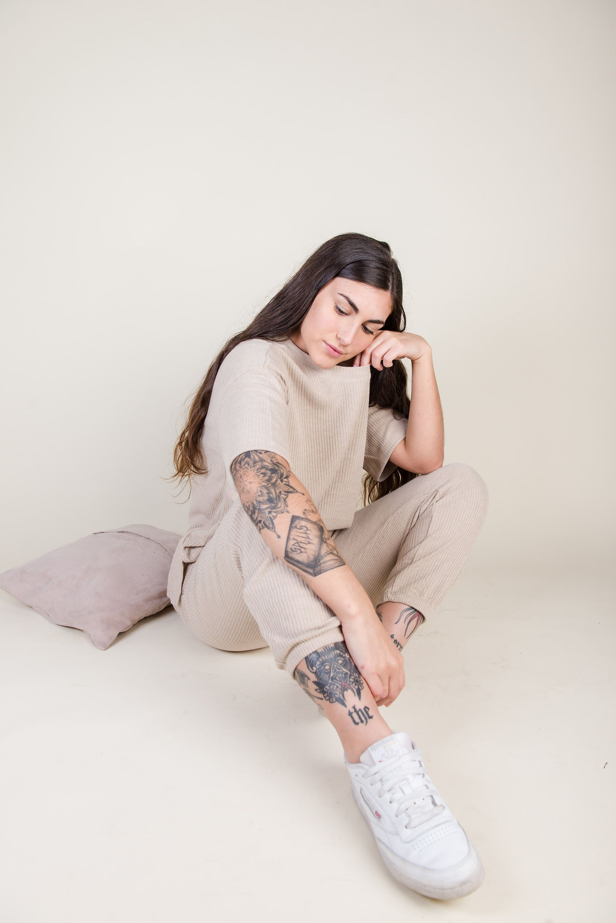 Gianna Set | Beige