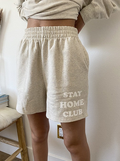 Stay Home Club Shorts