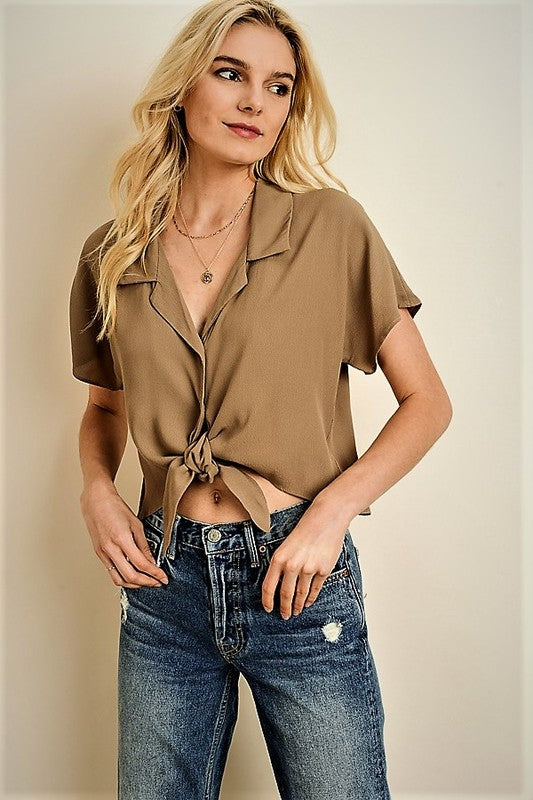 Mia Top | Beige