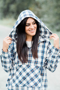 LILY FLANNEL HOODIE