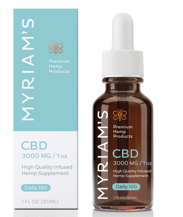 Myriam's Hope Daily 100 CBD oil