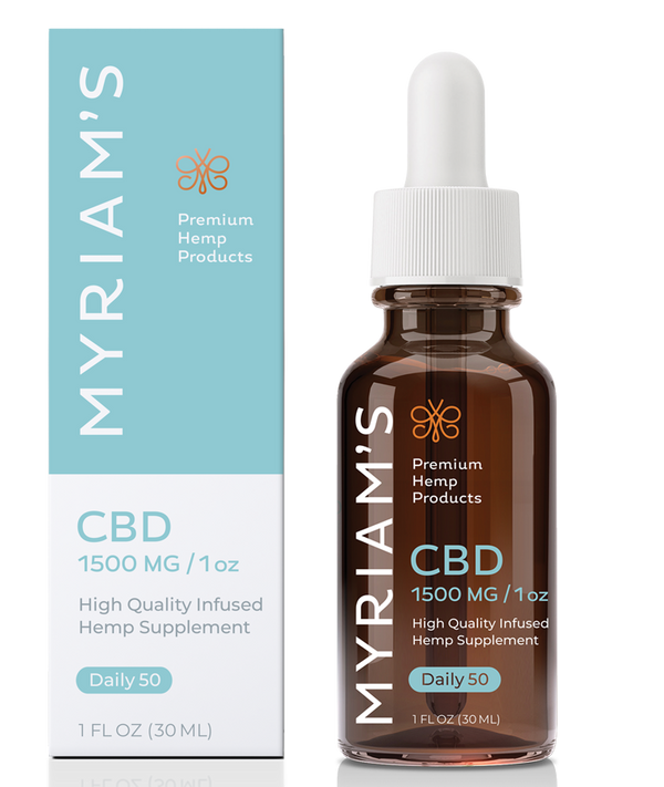 Myriam's Hope Daily 50 CBD Oil