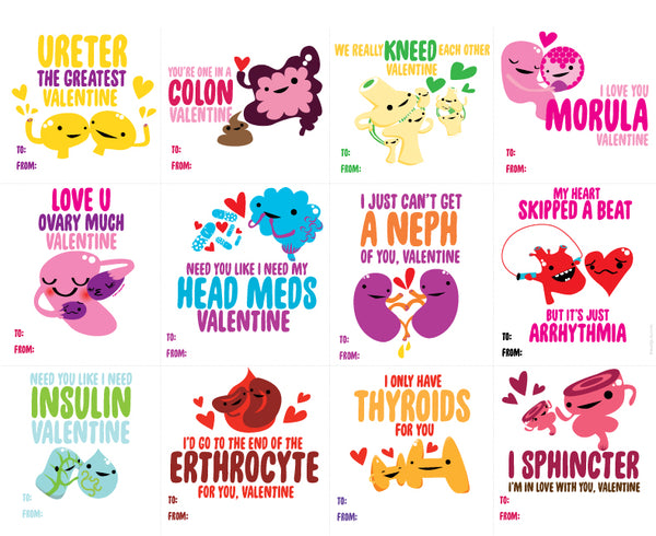 Valentine Card Funny Medical Humor