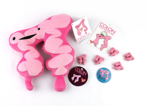 I Heart Guts, Colon, Colorectal Cancer Awareness