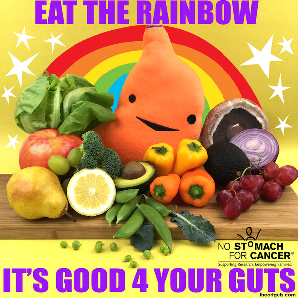 No Stomach For Cancer Eat The Rainbow