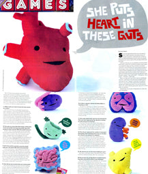 Games Magazine - She Puts Heart in These Guts - I Heart Guts Profile