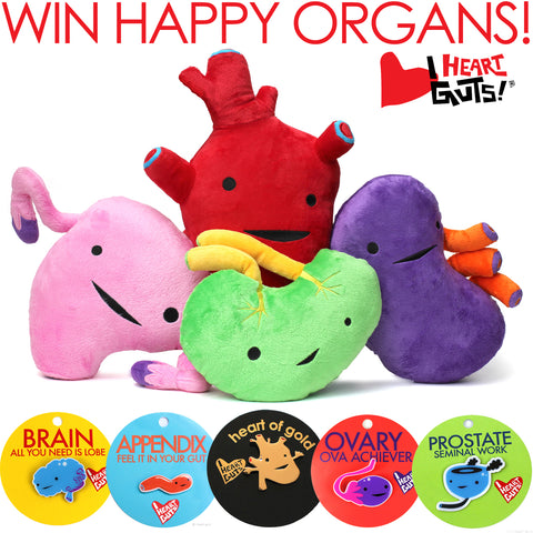 Plush Organs Giveaway - Free Plush Organs _Plush Organs Coupon