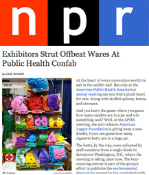 Exhibitors Strut Offbeat Wares At Public Health Confab
