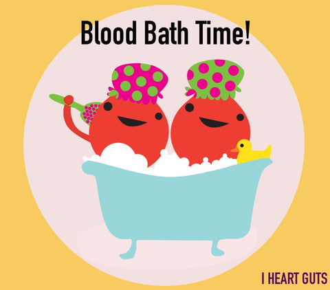 I Heart Guts Blood Bath
