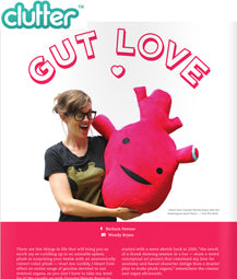 Clutter Magazine - I Heart Guts Interview