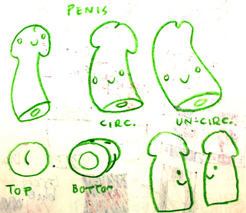 Penis Drawings - I Heart Guts