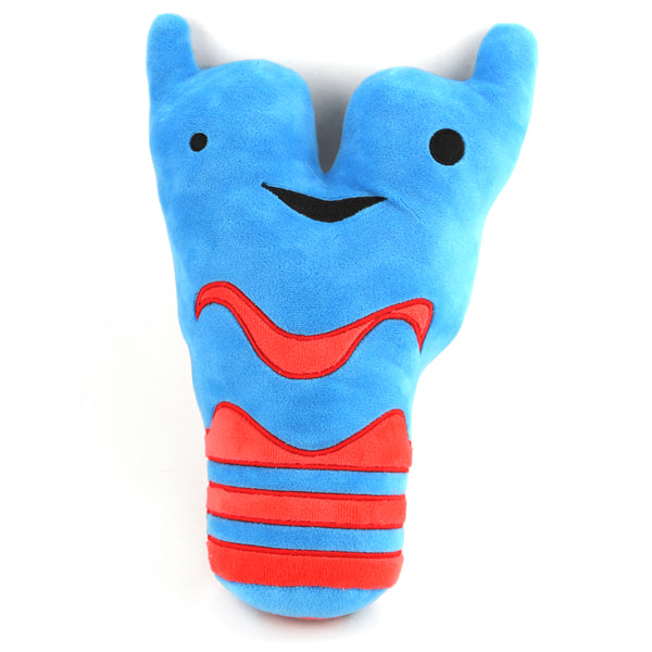 *NEW* - Larynx and Trachea Plush - Sounds Good! - Plush Organ Stuffed Toy Pillow