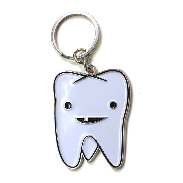 Tooth Keychain - Flossin' Ain't Just for Gangstas